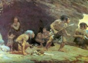It has been speculated that humans and Neanderthals interbred, but Neanderthal DNA in humans were kiilled by evolution.