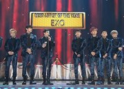 BTS showed how happy they are for their friends, EXO, as they won the biggest award of the night at the