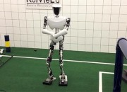 CHARLI shows off the latest robotics while playing soccer and dancing Gangnam Style.