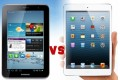 Galaxy Tab 2 7.0 vs. iPad mini