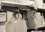 As seen in the latest James Bond movie, Skyfall, a gun maker has developed a 'smart gun' that only fires in the hand of its authorized owner