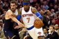 NY Knicks' Carmelo Anthony