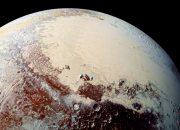 Recent studies have indicated that there is likely a subsurface ocean underneath Pluto's Sputnik Planitia. Many believe that the Icy Heart of Pluto is holding an exotic life of aliens.