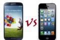 Galaxy S4, iPhone 5