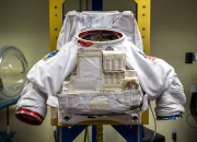 Staff members and students at the Rhode Island School of Design have come up with a new, adjustable suit that closely resembles an actual space suit. Just last Monday morning, RISD and NASA unveiled an out of this world creation.