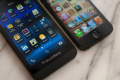 BlackBerry Z10 And iPhone 5