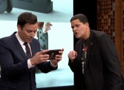 Nintendo surprises everone including host Jimmy Fallon when it unveiled an actual Nintendo Switch on The Tonight Show Starring Jimmy Fallon.