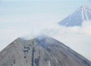 Two active volcanoes in Alaska saw lava flowing yesterday. Authorities concerned about ash clouds issued on alert.