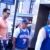 Two homosexual men were left battered and bruised by what may have been a group of Knicks fans caught in a video that has gone viral.