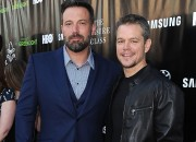 The bromance continues between celebrity best friends, Matt Damon and Ben Affleck as they reveal their thoughts on the roles of Batman and Daredevil.