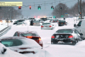 Rare Snow Storm Causes Traffic, Stranded People And Multiple Accidents In Portland