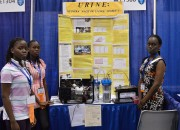 Three young girls discovered a way to put urine to use, and generate electricity