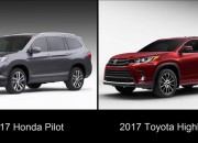The 2017 Honda Pilot takes on the 2017 Toyota Highlander in a clash to see which is the superior SUV.