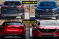 Battle Of The Crossovers Second Bout: 2017 Honda CR-V vs 2017 Mazda CX-5