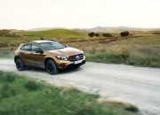 The 2017 Mercedes Benz GLA makes its debut at Detroit Auto Show and the new model offers more power and classier look.