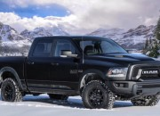 RAM Rebel joined the dark side as it made its 2017 Detroit Auto Show debut in a Black Edition.