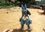 The game Ark: Survival Evolved has received a mod allowing players to hunt various types of Pokemon across the map.