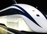"""A maglev train travels up to 500 kilometers per hour, but South Korea's near-supersonic """"train"""" can travel twice as fast - almost the same as the speed of light."""