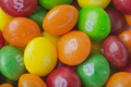 Skittles Spill Onto Road After A Truck Crash, Exposing Farmers Feeding The Sweets To Cows Instead Of Corn