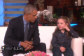 President Obama Asked About Aliens On Ellen Show