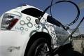 Hydrogen fuel cell car refueling