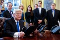 President Trump Signs Executive Orders On Oil Pipelines
