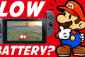 Nintendo Switch Battery Analysis Reveals No Quick Charge Technology