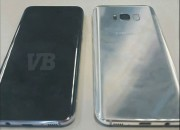Well-known leaker Evan Blass posted a photo of the Samsung galaxy S8 which shows larger displays and new location for the fingerprint sensor.