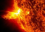 On the even of the Summer Solstice, a giant hole in the atmosphere of our local star erupted, and that could cause a geomagnetic storm here on Earth. But how will that affect our planet?