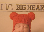 For the American Heart Month Celebration this February, babies wear red knitted caps to raise awareness of heart disease. People are encouraged to learn more about cardiovascular diseases and the easy ways to prevent them.