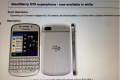 Bell leaked document of BB Q10