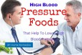 High Blood Pressure Foods That Help To Lower High Blood Pressure