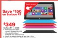 Surface RT Price Cut At Staples