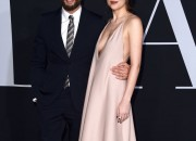 Dakota Johnson, 27, who stars as Anastasia Steele confessed that she and Jamie Dornan pre-game ritual before getting busy. She would take a shot of whiskey and mints and Jamie would do push ups before they do the intimate scenes.