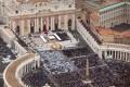 Pope John Paul II And Pope John XXIII Are Canonized During A Vatican Mass
