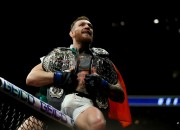 The UFC lightweight champion released a boxing sparring video at SBG Ireland on his Instagram on Wednesday. McGregor recently said he will pass on returning to the Octagon in order to compete in a boxing ring next — most specifically against Mayweather.