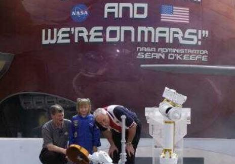 Simulated Mars Rover At Walt Disney World Resort