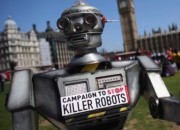 Scientists in the field of robotics fear that a Skynet-like catastrophe may result from the use of artificial intelligence in warfare.