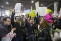 Protestors Rally At Philadelphia Airport Against Muslim Immigration Ban