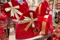 Shoppers And Retailers Prepare For Valentine's Day