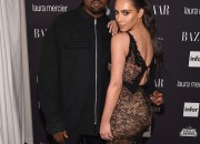 Despite the speculations, Kim K. did not ditch Kanye West on Valentine's Day. Instead, the famous couple had a spectacular celebration and Kim K. received a breathtaking present from rapper husband, Kanye West.