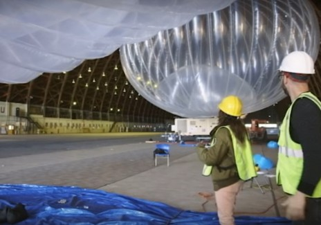 Alphabet's Google internet balloons