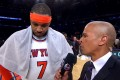Carmelo Anthony After His Heroic Performance Against The Spurs