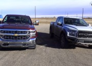 What happens when the 2017 F-150 Raptor takes on the 2017 Chevrolet Silverado? The answer is nothing short of
