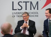 Bill Gates and other influential world personalities gather to speak about the imminent catastrophe that will be brough on by a bioterrorism attack. He stresses that genetically-engineered microbes can kill thousands, and there's a current lack of preventive measures in place.