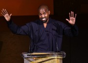 Kanye West causes delay on the shoot of Anchorman 2 because of Jacket Issues.