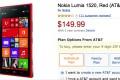 AT&T Nokia Lumia 1520 Amazon Deal