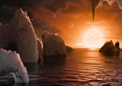 Trappist-1 Likely Could Hold Life