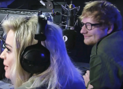 Ed Sheeran crashed Katy Perry's interview last Wednesday and the two famous icons were fun to watch.
