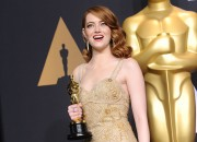 As Emma Stone stood at the Dolby Theatre stage accepting her Best Actress award at the Oscars on Sunday, she thought about where it all started: A ninth grade dropped out in Scottsdale, Arizona.